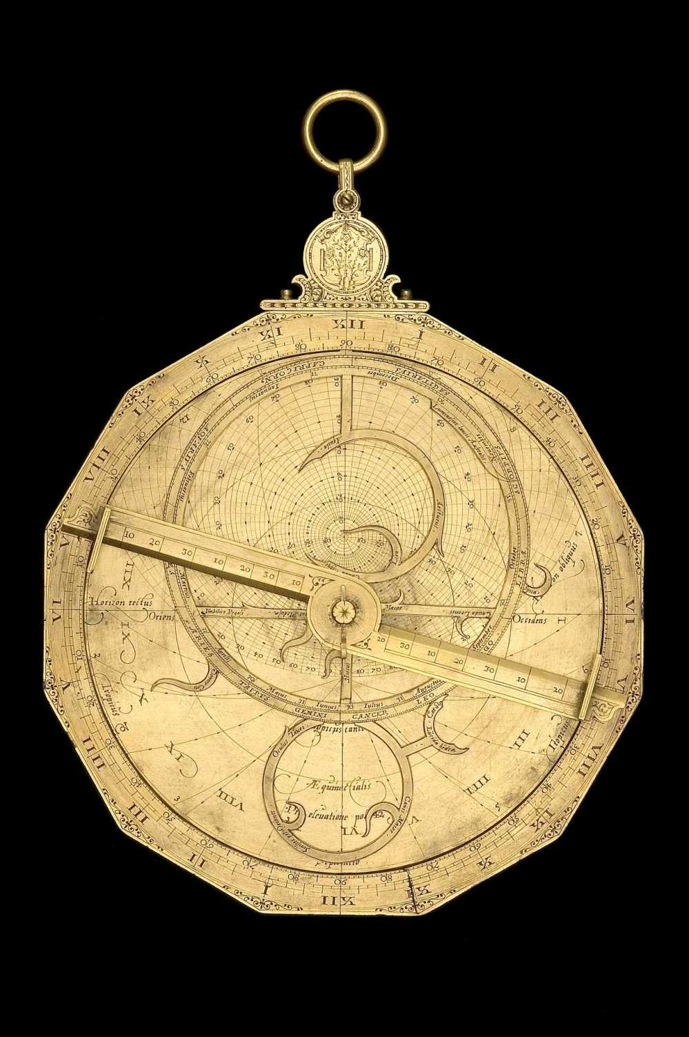 preview image for Dodecagonal Astrolabe, by Erasmus Habermel, German, c. 1585
