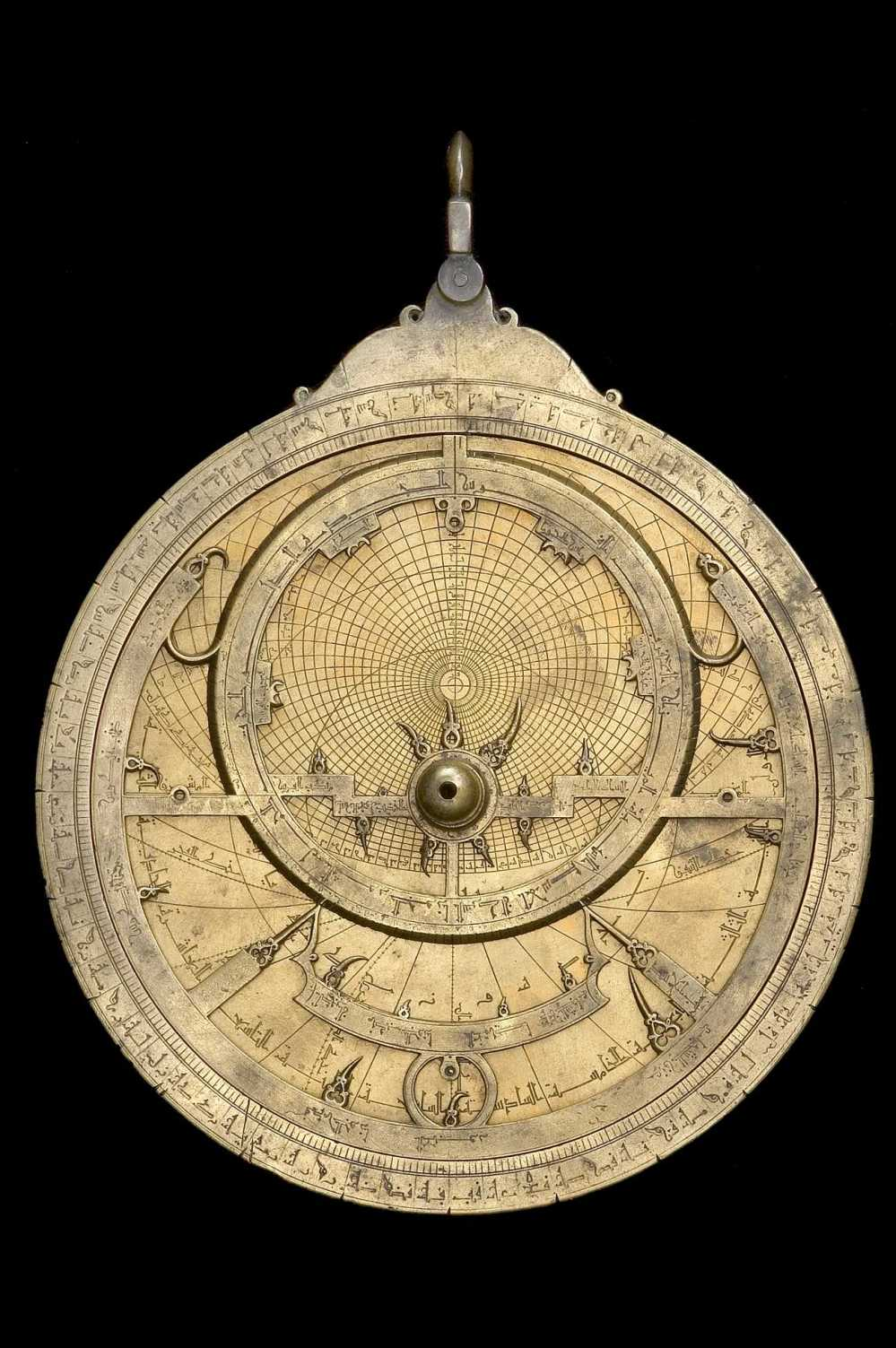 preview image for Astrolabe, by Muhammad ibn Fattuh al-Khama'iri, Seville, 1221/2