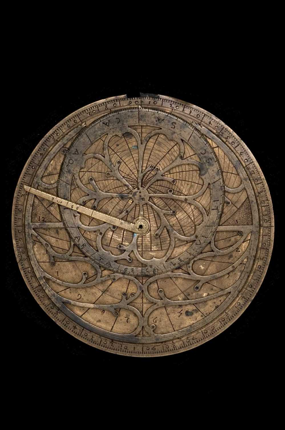preview image for Astrolabe and Astrological Volvelle, Italian, Later 15th Century