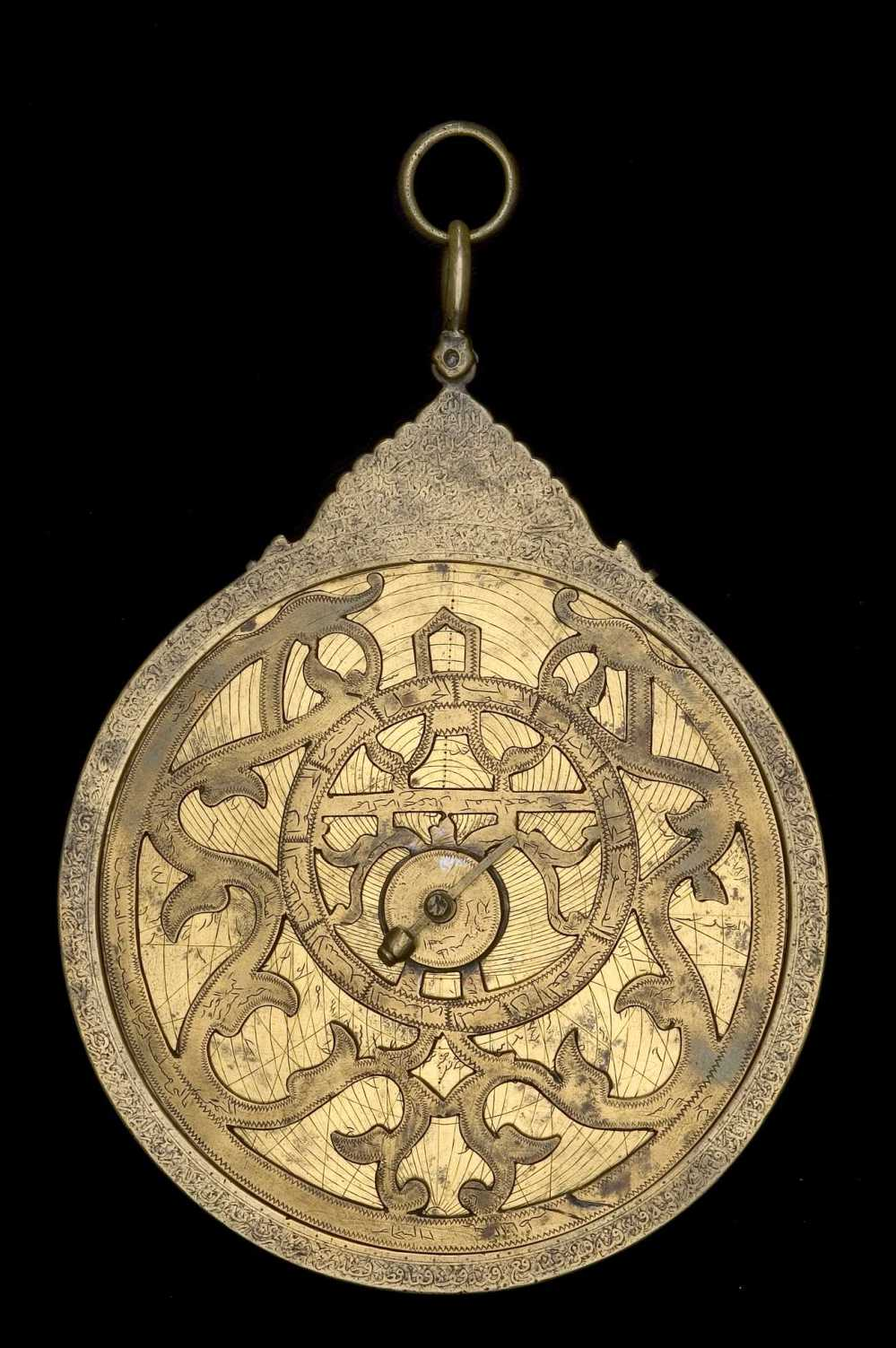 preview image for Astrolabe, by Muhammad Mahdi al-Khadim al-Yazdi, Persian, c. 1650