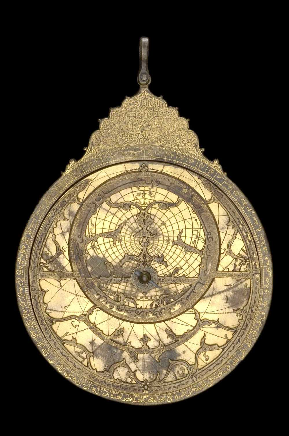 preview image for Astrolabe, by Muhammad Mahdi al-Yazdi, Persian, c. 1650