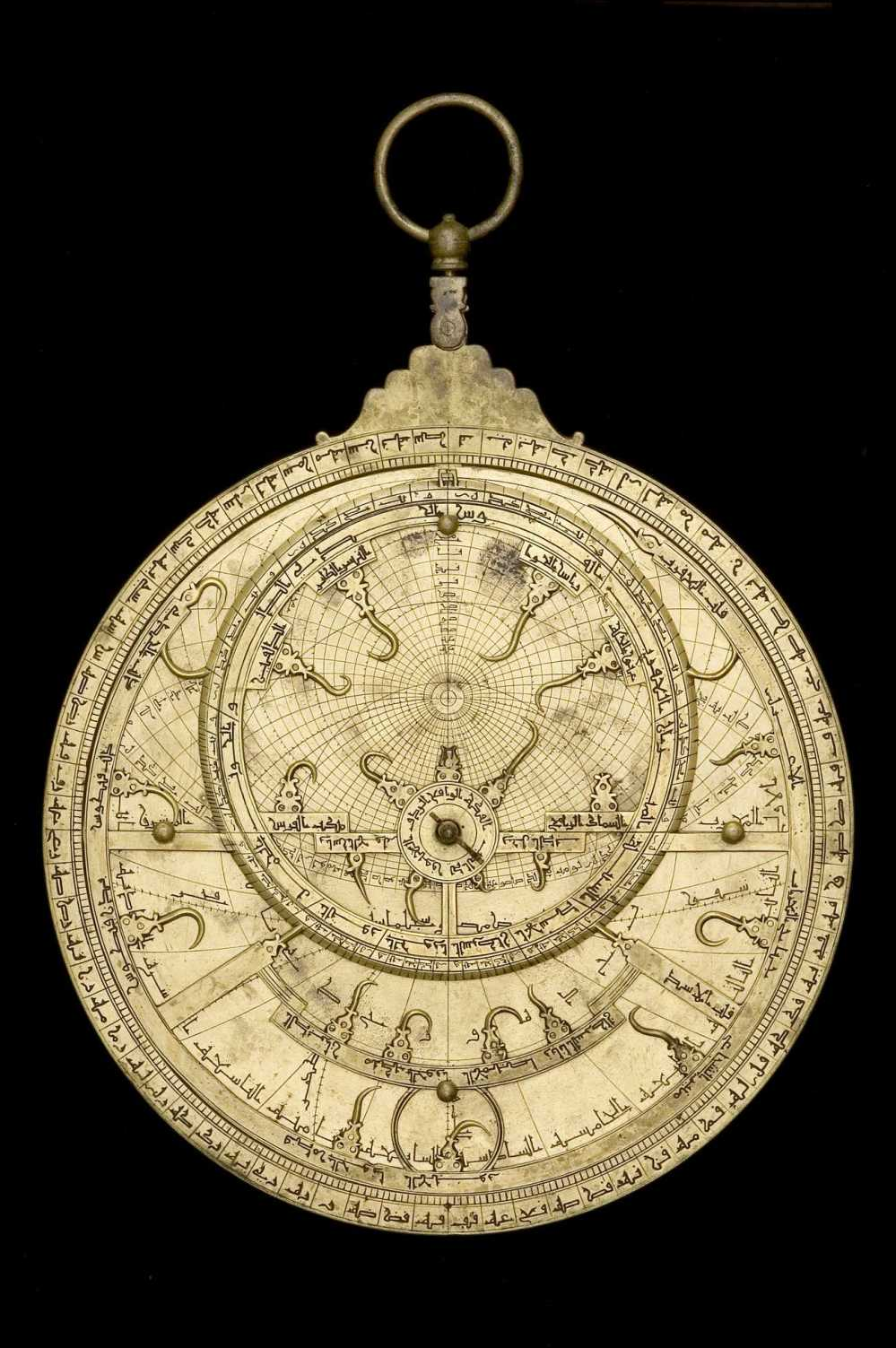 preview image for Astrolabe, by Muhammad ibn Ahmad al-Battuti, North African, 1733/4