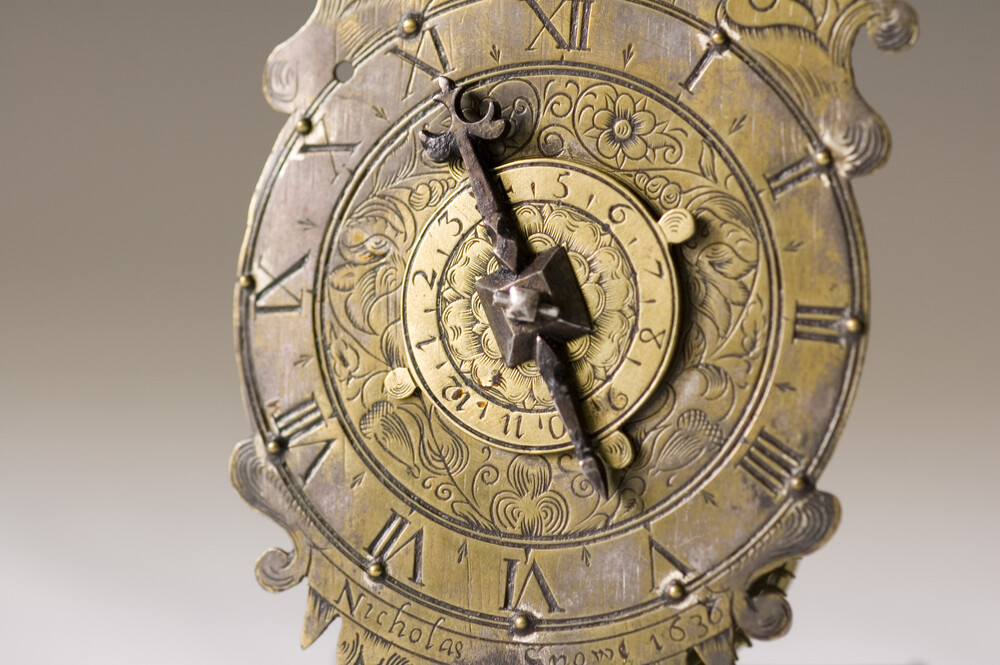 preview image for Wall Clock, by Nicholas Snowe, English, 1638
