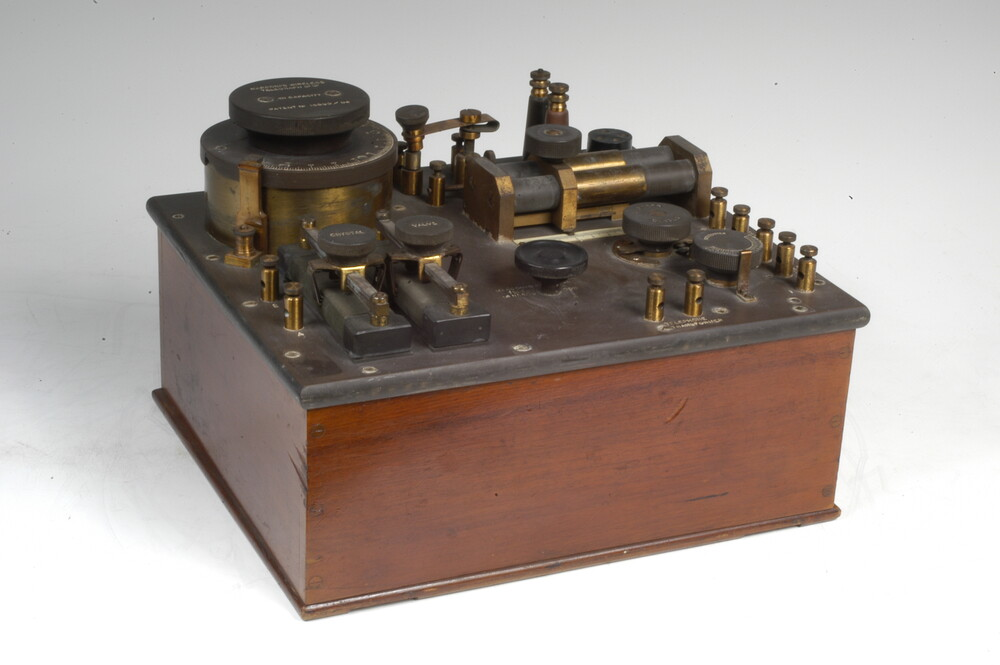 preview image for Marconi Crystal Receiver With Valve, by Marconi Company, London, c. 1916