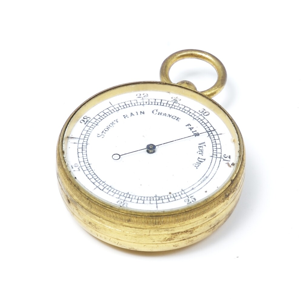 preview image for Pocket Watch Form Aneroid Barometer, c. 1900