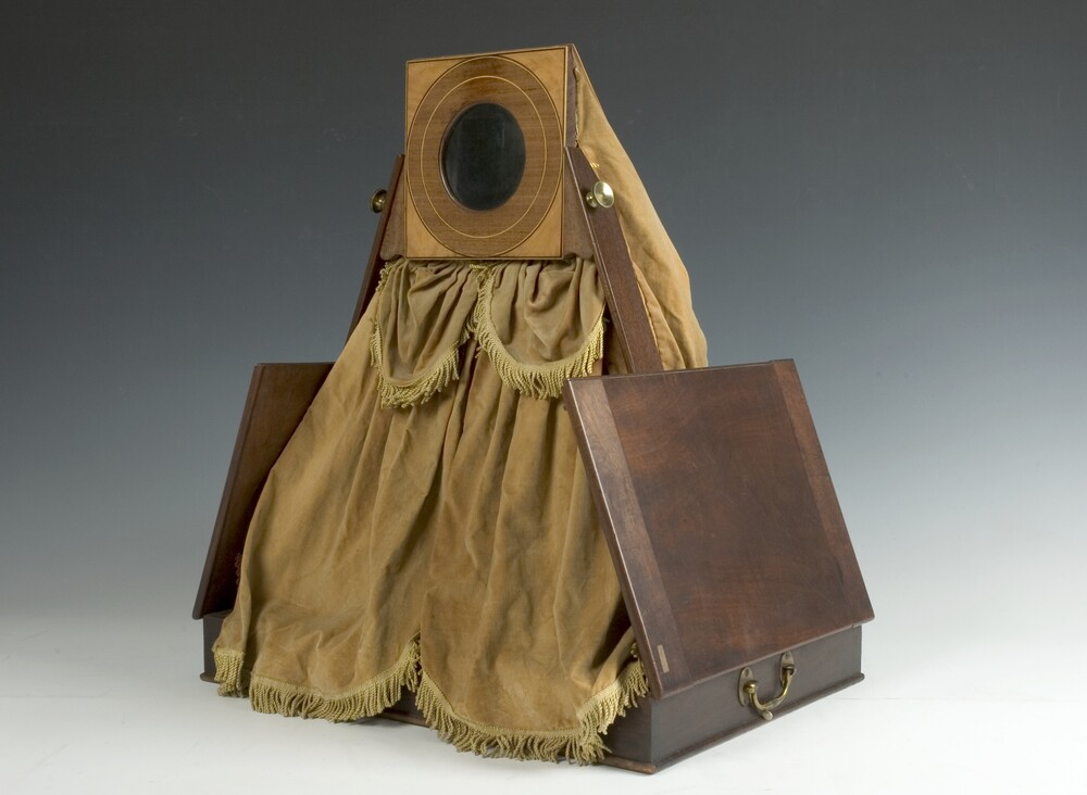 preview image for Large Folding Camera Obscura, Early 19th Century