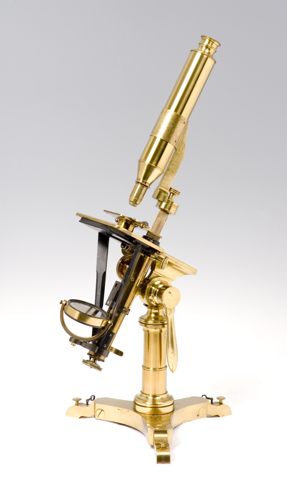 preview image for Compound Microscope in Case, by Andrew Ross, London, c. 1835