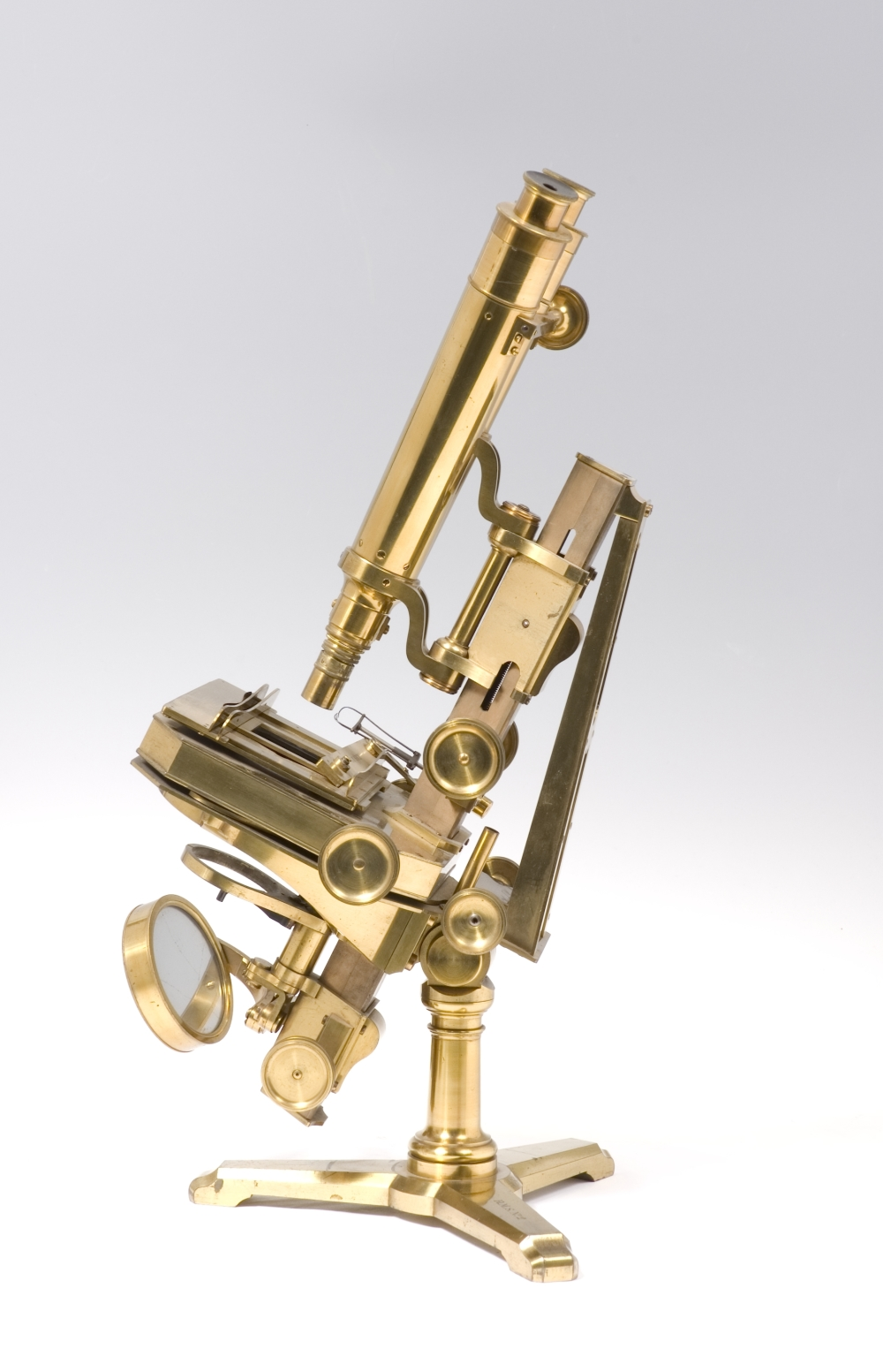 preview image for Compound Binocular Microscope with Accessories c. 1841