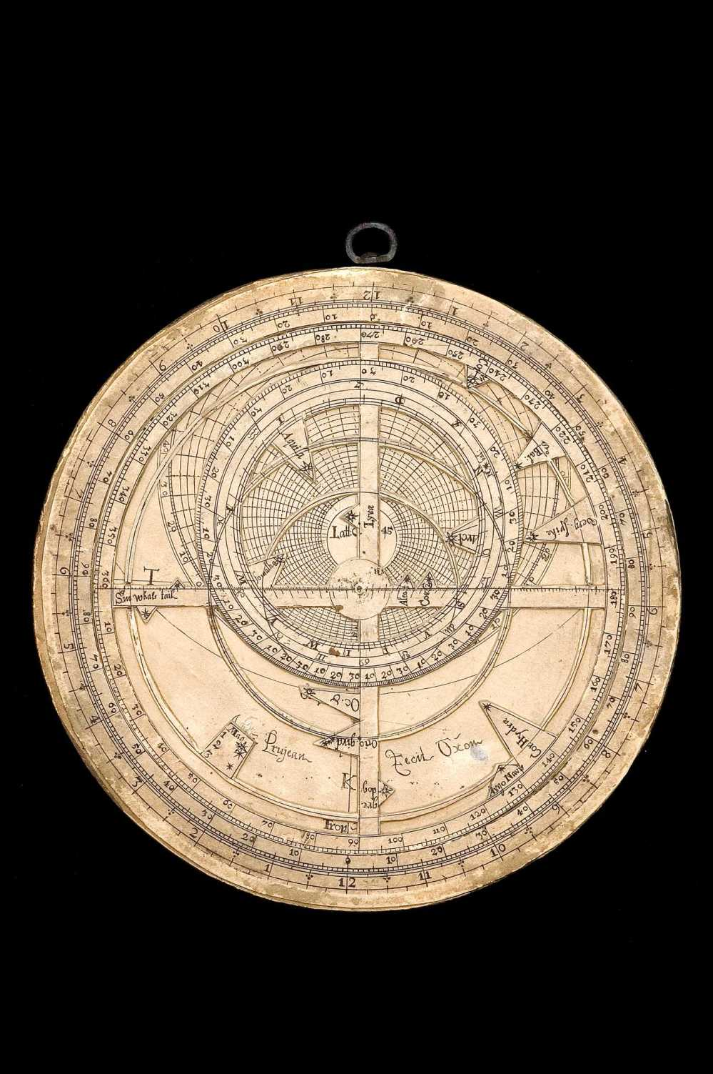 preview image for Paper Astrolabe, by John Prujean, Oxford, c. 1680
