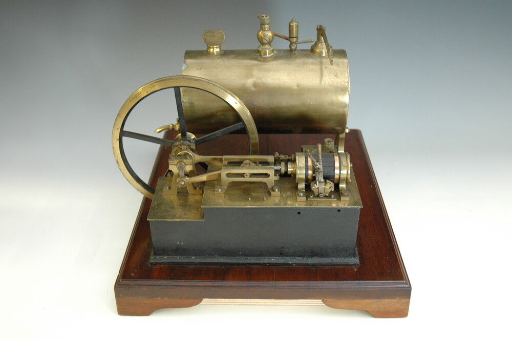 preview image for Model Steam Engine and Parts, by Elliott Brothers, London, 19th Century