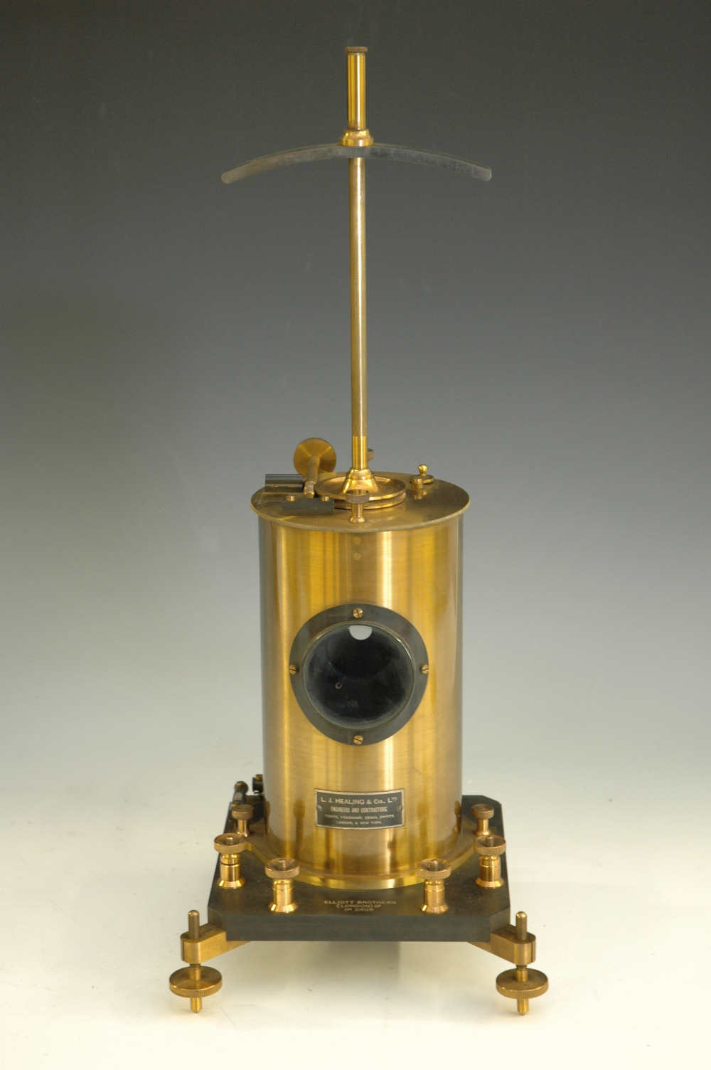 preview image for Reflecting Galvanometer, by L. J. Healing & Co. Ltd and Elliott Brothers (London) Ltd., Early 20th Century