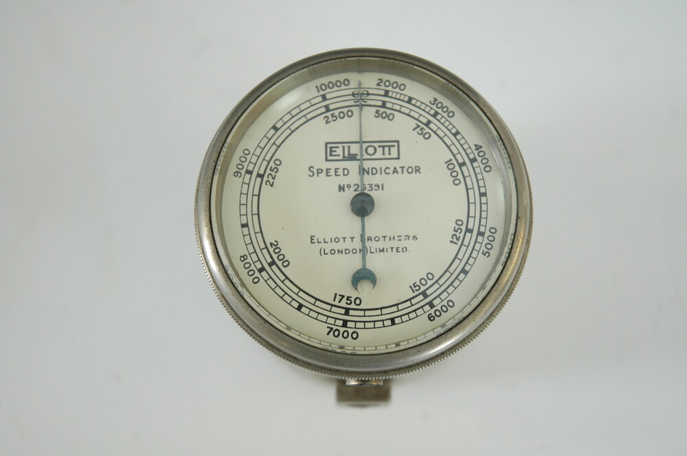 preview image for Rotational Speed Indicator and Case, by Elliott Brothers (London) Ltd., c.1920