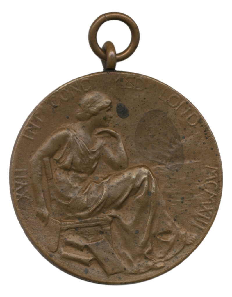 preview image for Medal from 17th International Congress of Medicine, London, 1913, with Portrait of Lord Lister