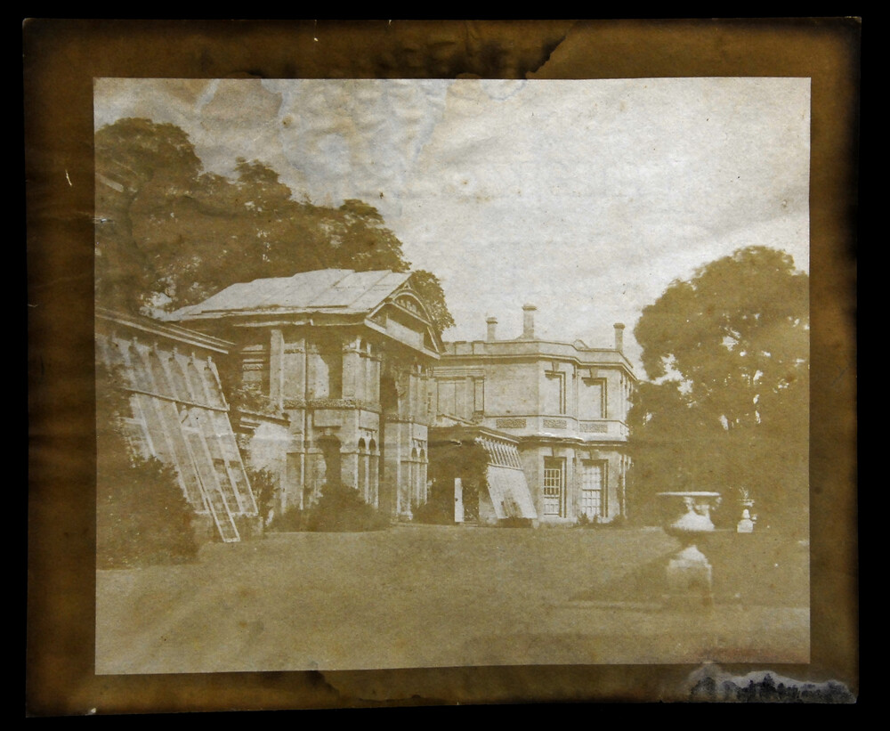 preview image for Photograph (Salted Paper Print, Framed) of the Botanic Garden, Oxford, by W. H. Fox Talbot, July 30, 1842