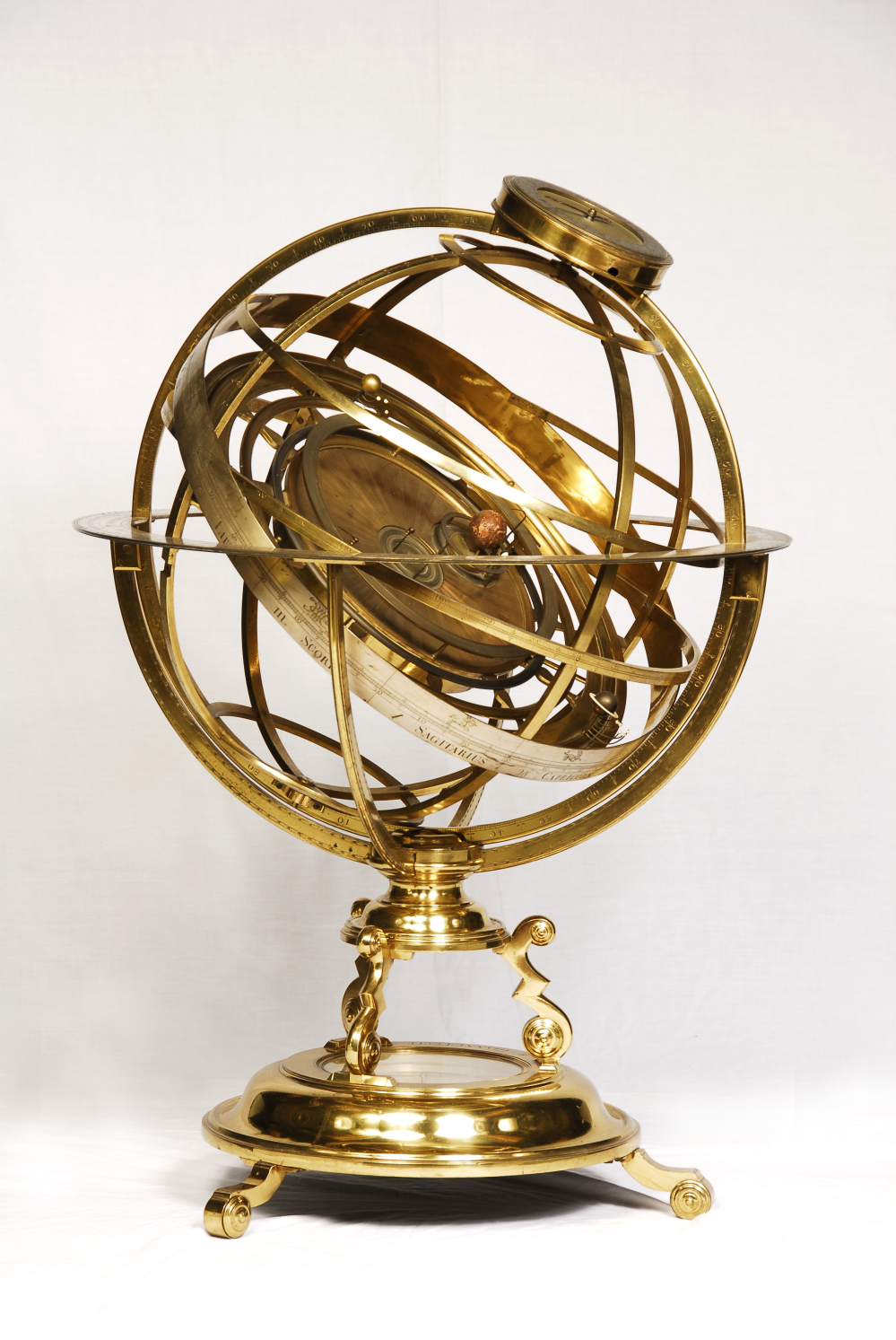 preview image for Armillary Orrery, by Richard Glynne, London, c. 1710-30