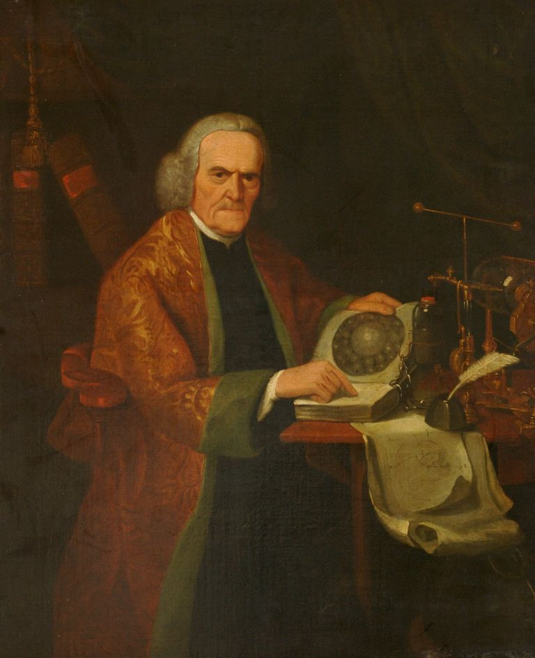 preview image for Painting (Oil on Canvas, Framed) of Richard Lovett, Attributed to Joseph Wright of Derby, c.1760