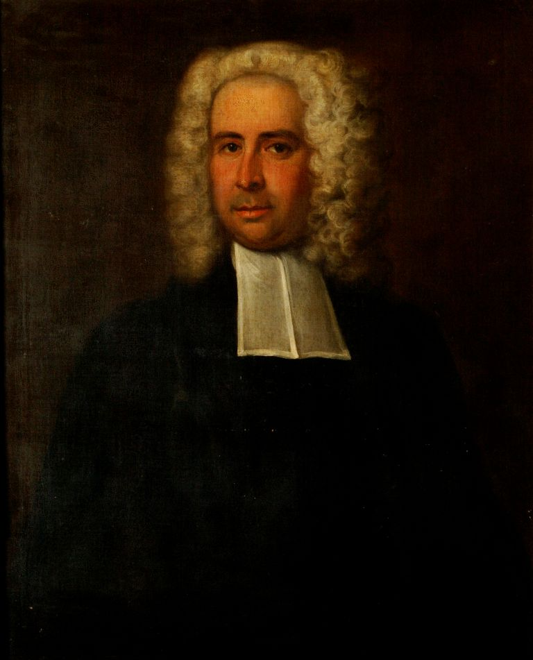 preview image for Painting (Oil on Canvas, Framed) of J. T. Desaguliers, Attributed to Jonathan Richardson the Younger, c.1730