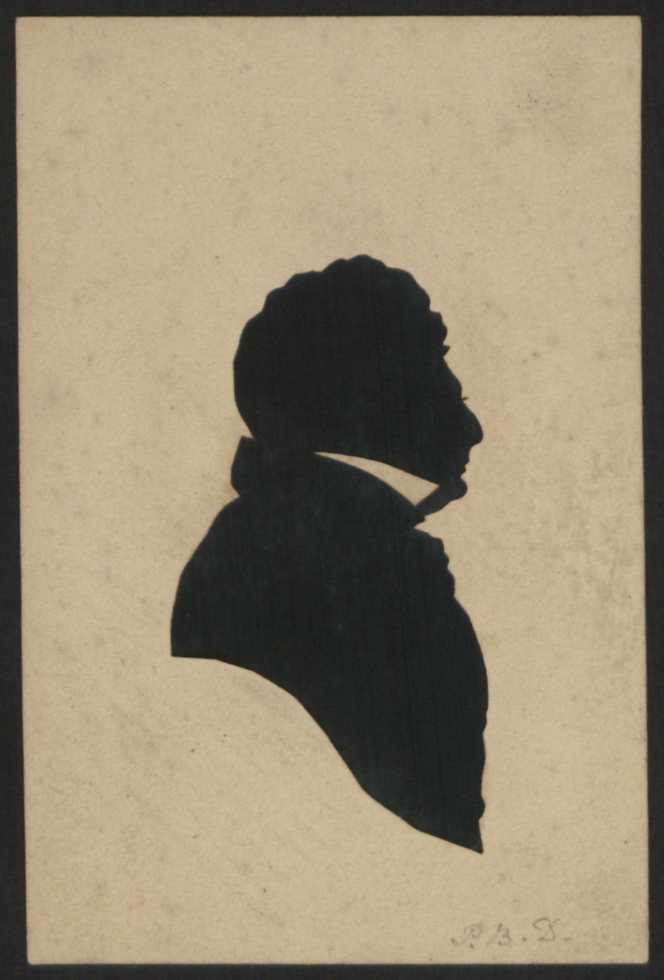 preview image for Silhouette of Phillip Bury Duncan, by Augustin Edouart, c.1830
