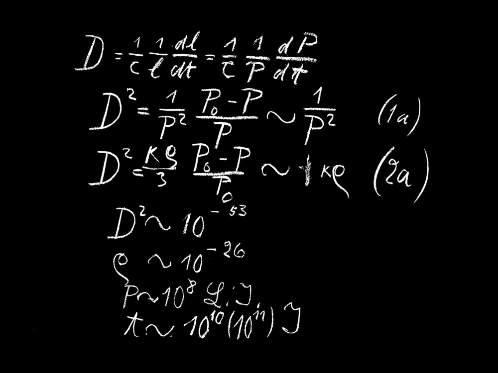 preview image for Blackboard Used by Albert Einstein, Oxford, May 16, 1931