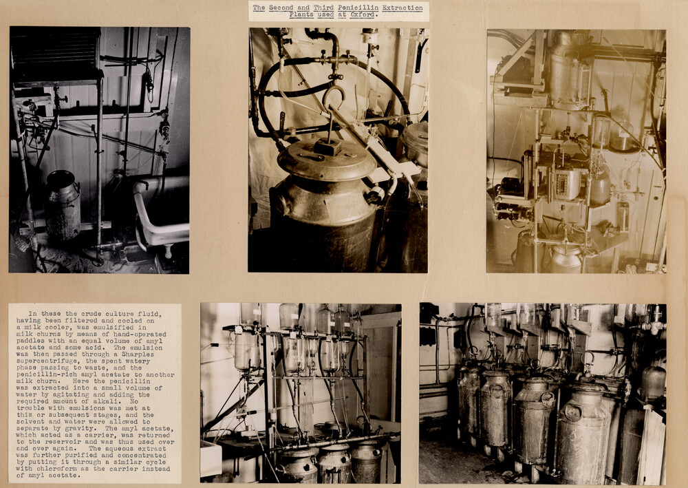 preview image for Five Photographs of Early Penicillin Apparatus at the Sir William Dunn School of Pathology, Oxford, Early 1940s