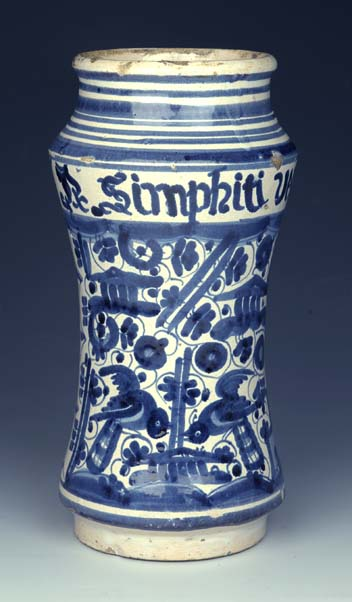 preview image for Drug Jar, Catalonia, Late 17th/Early 18th Century