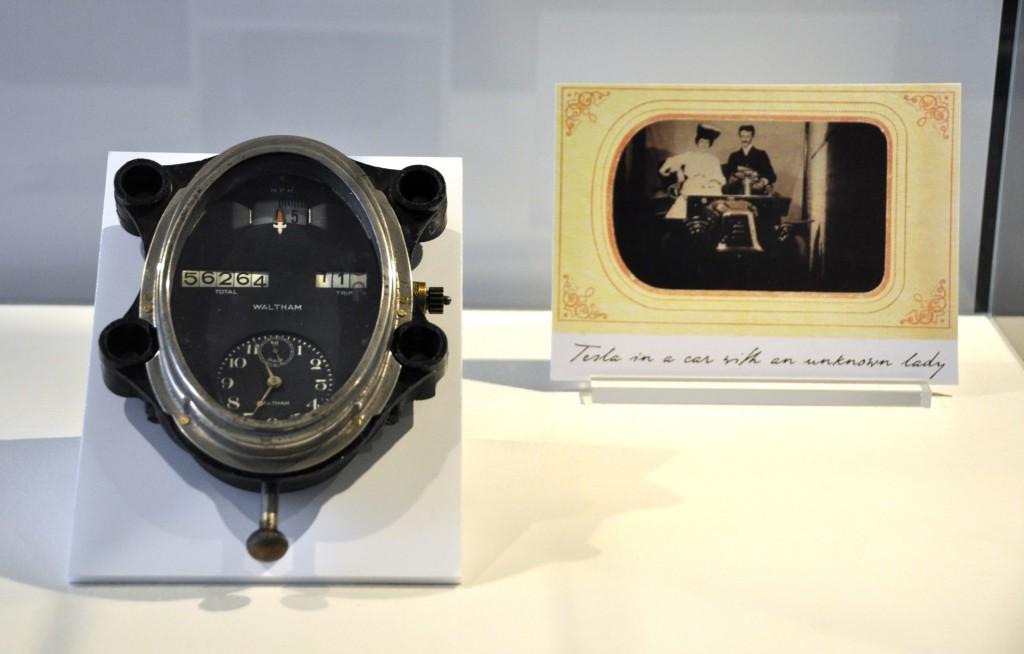 Speedometer by the Waltham Watch Company applying a patent of Nikola Tesla, c.1925