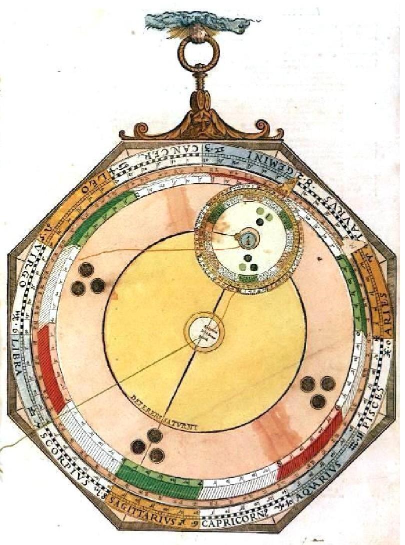 Image of Peter Apian, Astronomicum Caesareum (Ingolstadt, 1540)