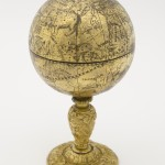 Celestial globe with scaphe dial