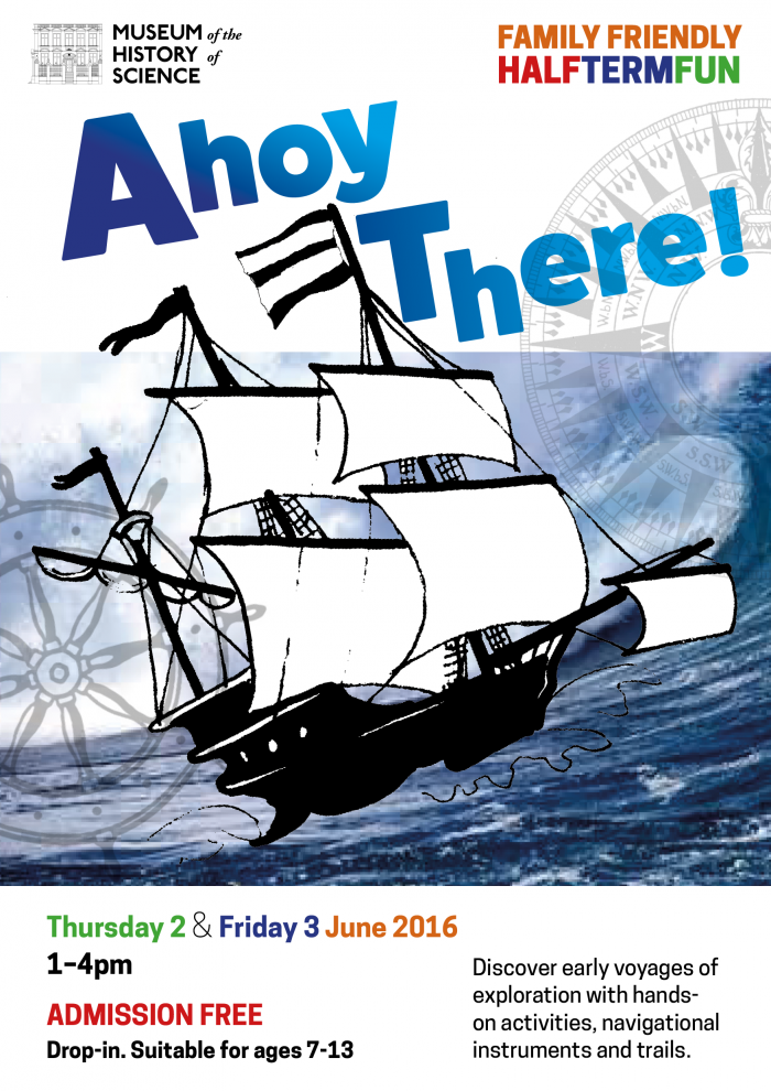 Ahoy There event poster