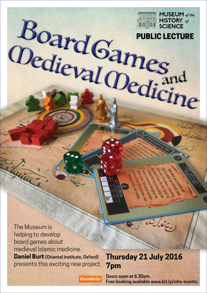 Board Games and Medieval Medicine Poster