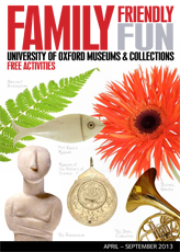joint Oxford museums family friendly events brochure