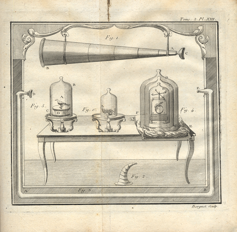 Joseph Aignan Sigaud de la Fond: Description et usage d'un Cabinet de Physique Experimentale, 1775, vol. 2