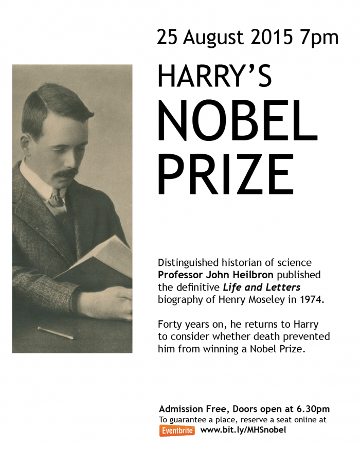 Harry's Nobel Prize