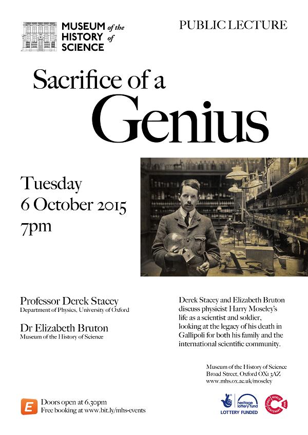 MHS Sacrifice of a Genius Poster
