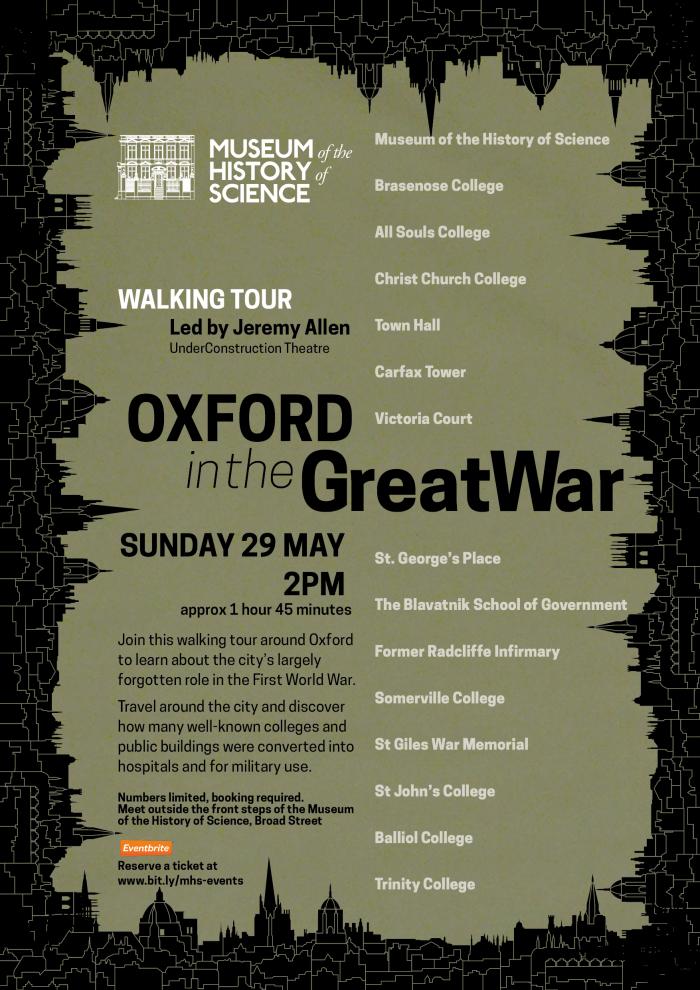 Oxford in WW1 Walking Tour