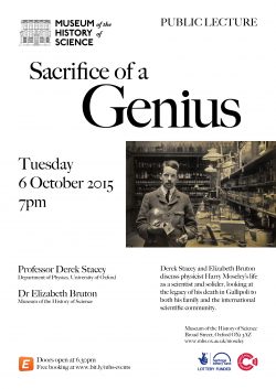 Sacrifice of a Genius poster