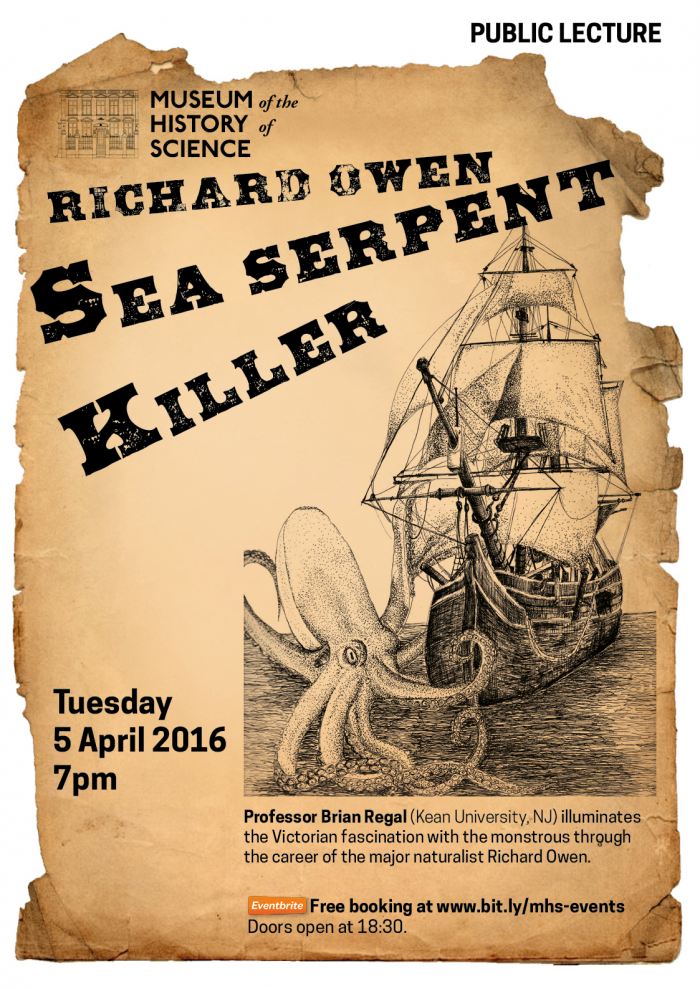 Sea Serpent Killer, 5 April 7pm.