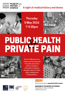 Poster for Public Health Private Pain