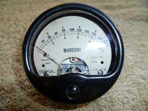Marconi Galvanometer, mid-20th-Century