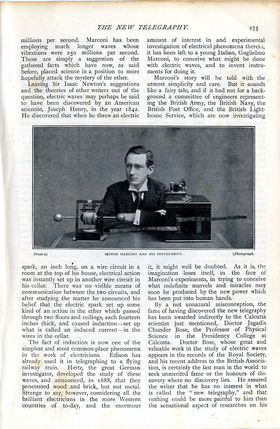 Illustrated Article from The Strand Magazine, 1897