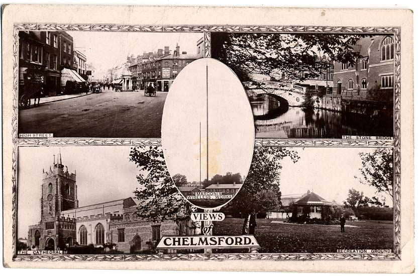 Multi-View Postcard of Chelmsford, c.1910