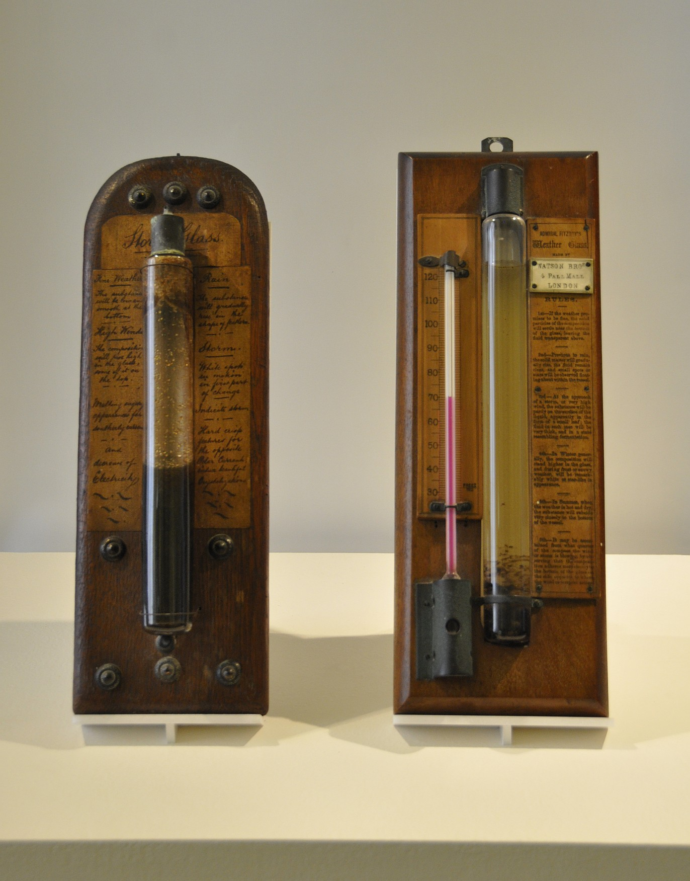 Fitzroy Glass Barometer