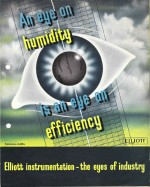 Elliott Brothers eye-catching poster: An eye on humidity is an eye on efficiency
