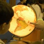 Teaching history through a globe