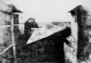 View from the Window at Le Gras – Joseph Niépce