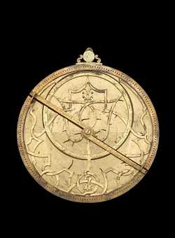 astrolabe, inventory number 42223 from London, 1559