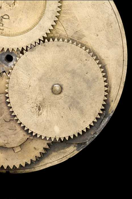 Closeup of Astrolabe with Geared Calendar, by Muhammad b. Abi Bakr, Isfahan, 1221/2   (Inv. 48213)
