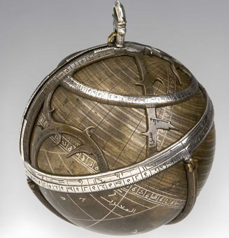 astrolabe, inventory number 49687 from Syria (?), 1480/1 (A. H. 885)