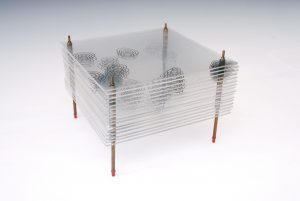 Model of the Structure of Penicillin, by Dorothy Crowfoot Hodgkin, Oxford, c.1945