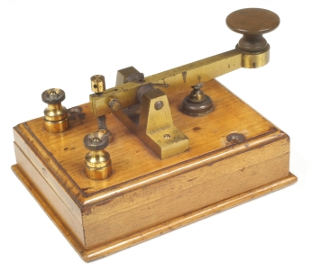 how to make a homemade morse code machine